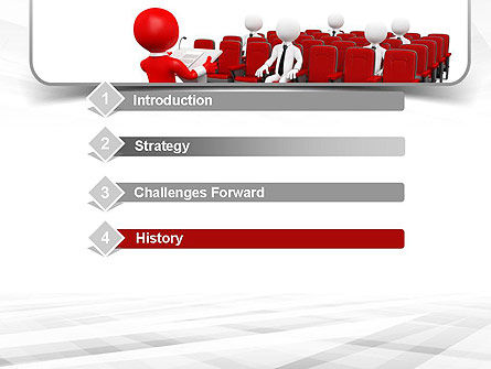 Conference Speaking PowerPoint Template, Slide 3, 10948, Careers/Industry — PoweredTemplate.com