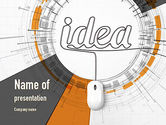 Business Concepts: Idea Development PowerPoint Template #10949