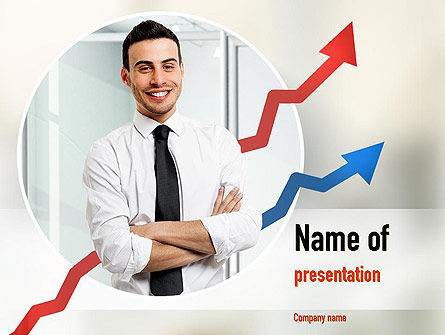 Effective Manager PowerPoint Template, 10950, People — PoweredTemplate.com