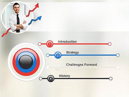 Effective Manager PowerPoint Template, Slide 3, 10950, People — PoweredTemplate.com