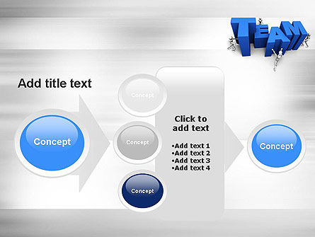 Teambuilding PowerPoint Template Slide 17