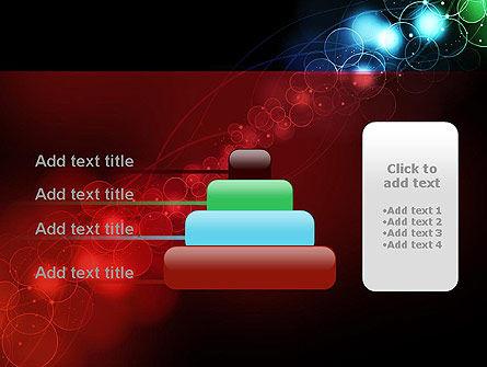 Rainbow Spots PowerPoint Template Slide 8