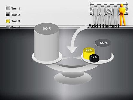 Lineup Procedure PowerPoint Template Slide 10