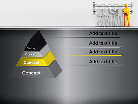 Lineup Procedure PowerPoint Template Slide 12
