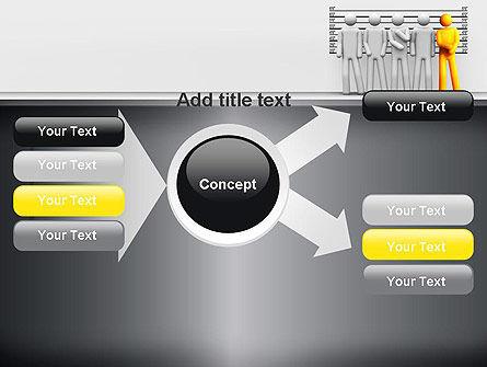 Lineup Procedure PowerPoint Template Slide 14