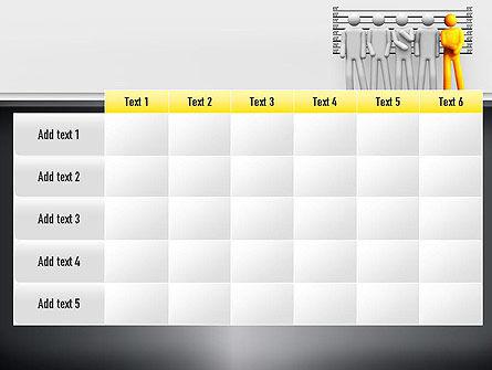 Lineup Procedure PowerPoint Template Slide 15