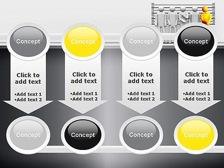 Lineup Procedure PowerPoint Template Slide 18
