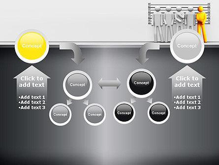Lineup Procedure PowerPoint Template Slide 19