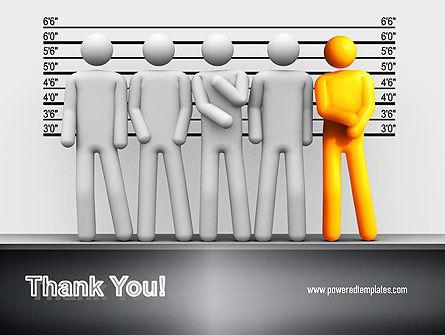 Lineup Procedure PowerPoint Template Slide 20