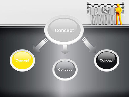 Lineup Procedure PowerPoint Template, Slide 4, 10954, Legal — PoweredTemplate.com