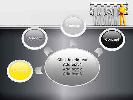 Lineup Procedure PowerPoint Template Slide 7