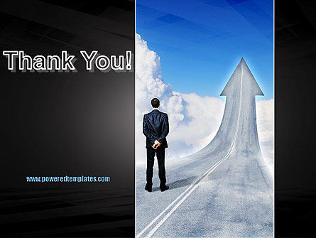 Road to Success PowerPoint Template Slide 20