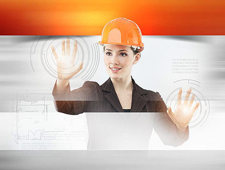 Careers/Industry: Lead Architect PowerPoint Template #10958