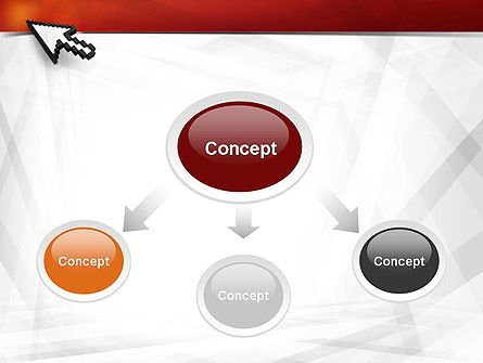 Mouse Cursor PowerPoint Template Slide 4
