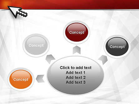 Mouse Cursor PowerPoint Template Slide 7