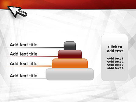 Mouse Cursor PowerPoint Template Slide 8