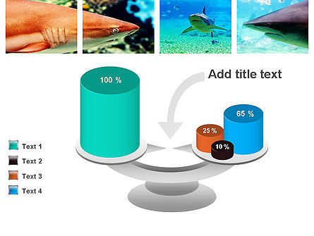 Sharks PowerPoint Template Slide 10