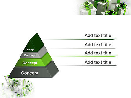 Green Gift Boxes PowerPoint Template Slide 12
