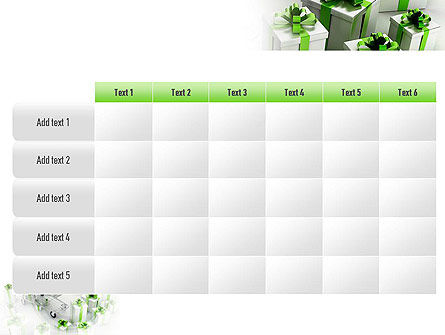 Green Gift Boxes PowerPoint Template Slide 15