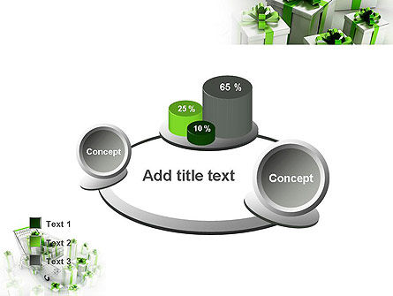 Green Gift Boxes PowerPoint Template Slide 16