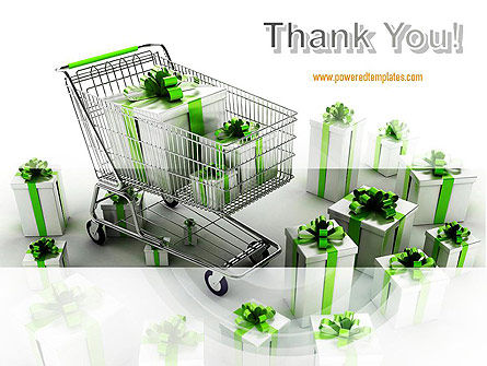 Green Gift Boxes PowerPoint Template Slide 20