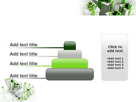 Green Gift Boxes PowerPoint Template Slide 8