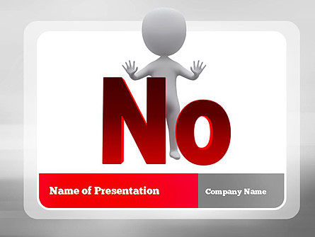No PowerPoint Template