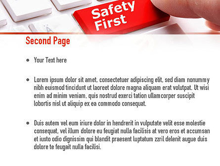 Computer Safety First PowerPoint Template, Slide 2, 10972, Careers/Industry — PoweredTemplate.com