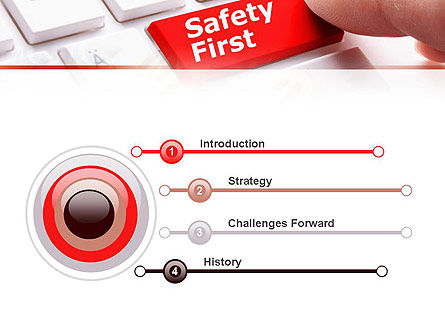 Computer Safety First PowerPoint Template, Slide 3, 10972, Careers/Industry — PoweredTemplate.com