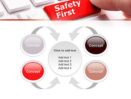 Computer Safety First PowerPoint Template Slide 6