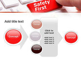 Computer Safety First PowerPoint Template#17