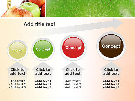 Apple Collage PowerPoint Template Slide 13