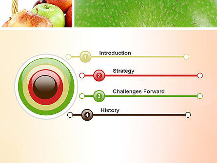 Apple Collage PowerPoint Template, Slide 3, 10975, Agriculture — PoweredTemplate.com