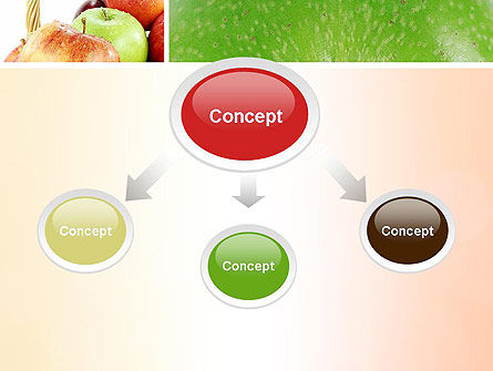Apple Collage PowerPoint Template, Slide 4, 10975, Agriculture — PoweredTemplate.com