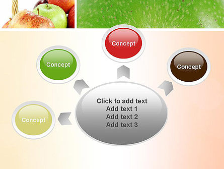 Apple Collage PowerPoint Template Slide 7