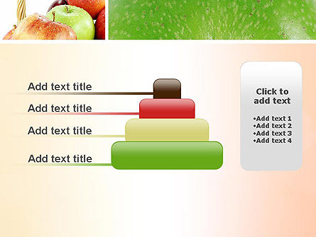Apple Collage PowerPoint Template Slide 8