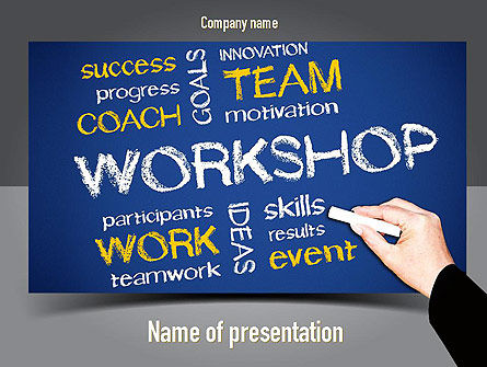 Coaches Workshop PowerPoint Template
