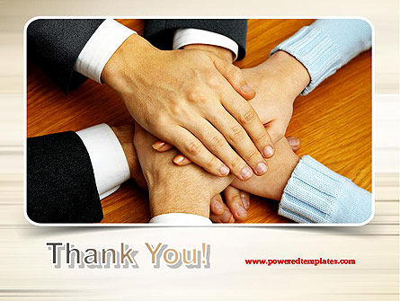 People Hands Together PowerPoint Template Slide 20