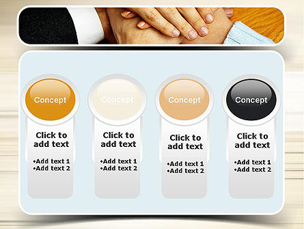 People Hands Together PowerPoint Template Slide 5