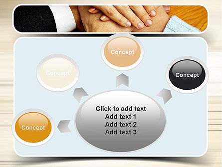 People Hands Together PowerPoint Template Slide 7