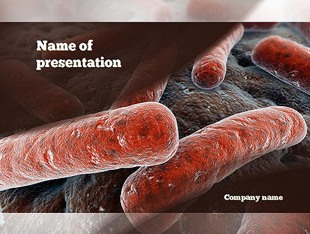 Legionnaires Disease PowerPoint Template, 10982, Medical — PoweredTemplate.com