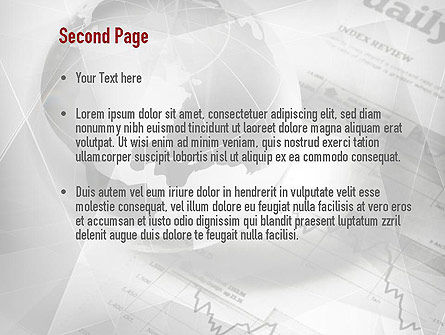 Global Investment PowerPoint Template, Slide 2, 10983, Financial/Accounting — PoweredTemplate.com