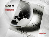 Financial/Accounting: Global Investment PowerPoint Template #10983