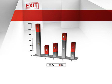 Maze Exit Sign PowerPoint Template Slide 17