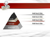 Sitting on Dollar Packs PowerPoint Template#12
