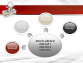 Sitting on Dollar Packs PowerPoint Template#7