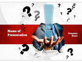 Careers/Industry: The Answer PowerPoint Template #10988