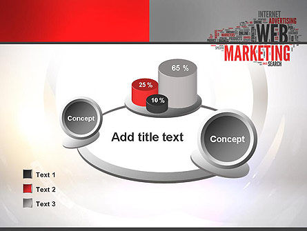 Web Marketing Word Cloud PowerPoint Template Slide 16