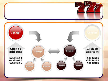 Lucky Sevens PowerPoint Template Slide 19