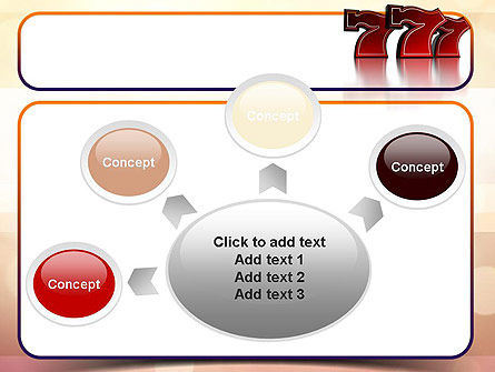 Lucky Sevens PowerPoint Template Slide 7
